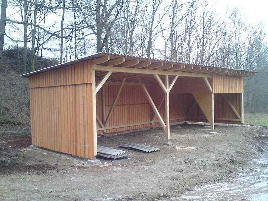 H rseltal holzbau dachstuhl gaube carport holzrahmenbau for Holzkonstruktion carport
